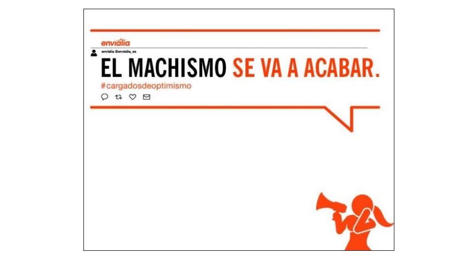 Envialia, sponsor de Ourense Envialia FSF lanza una campaña en contra del machismo
