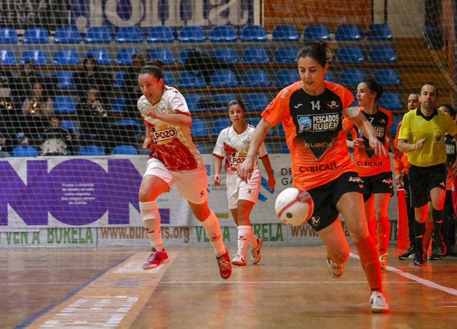 Crónica: Pescados Rubén Burela - UCAM ElPozo Murcia FSF. Jornada 14ª. 1ª División Fútbol Sala Femenino