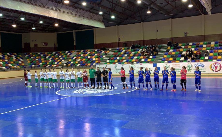 Crónica: Joventut D'Elx - Bisontes Castellón FSF. Jornada 15ª. 2ª División. Grupo 2º. Fútbol Sala Femenino