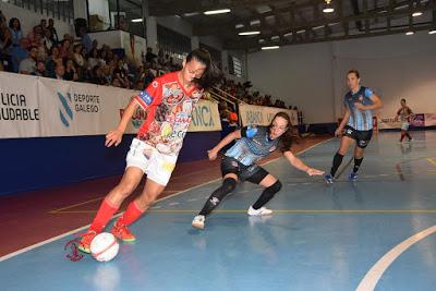 Crónica de los Cuartos de Final Copa de S. M. La Reina de Fútbol Sala Femenino: Poio Pescamar FS - STV Roldán