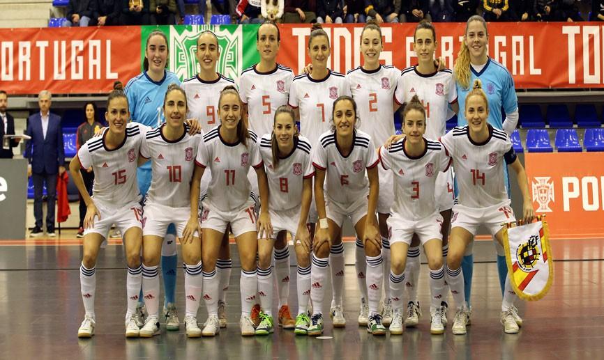 La Selección Española de Fútbol Sala Femenino encabeza el ranking UEFA