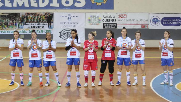 Crónica: Cidade de As Burgas - Sala Zaragoza. 1ª División. Jornada 18ª