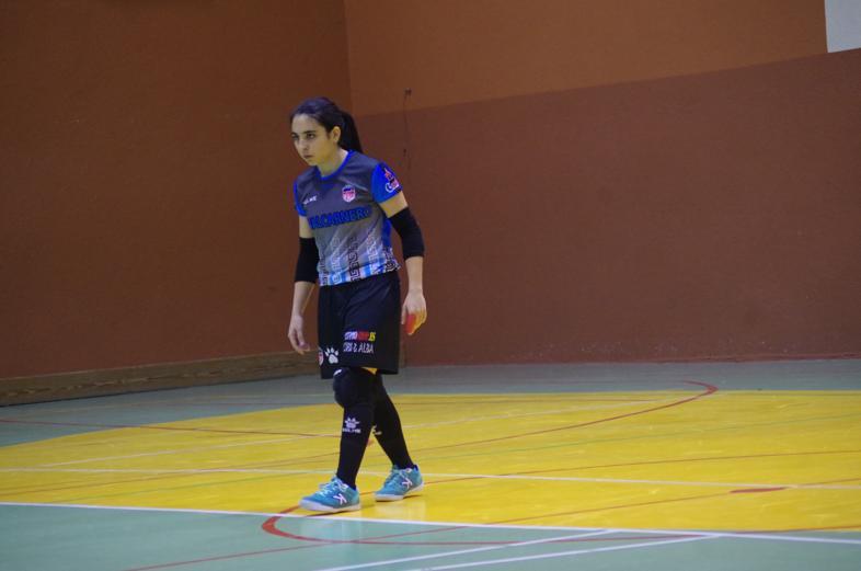 Marta Balbuena, portera de Futsi Atlético Navalcarnero