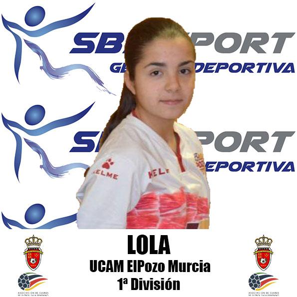 Lola (Jugadora de UCAM ElPozo Murcia FSF)