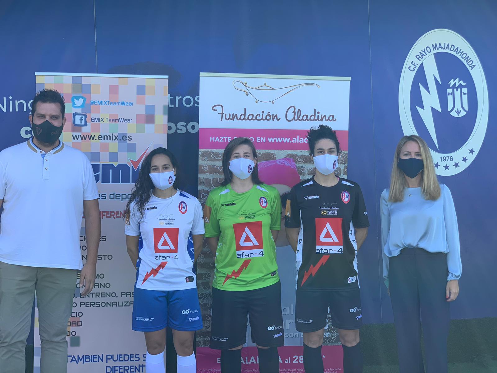 Presentadas oficialmente las equipaciones del Rayo Majadahonda Fútbol Sala para la Temporada 2020/2021