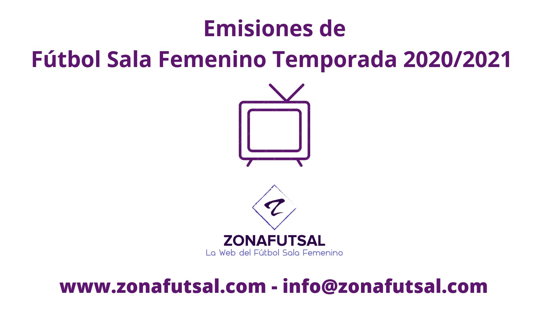Emisiones en Directo de la 1ª División de Fútbol Sala Femenino - Jornada 7ª