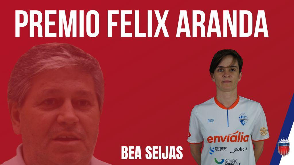 Bea Seijas: Ganadora del Premio Félix Aranda