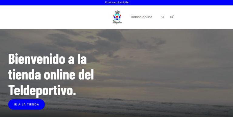 Tienda On Line del Gran Canaria Teldeportivo