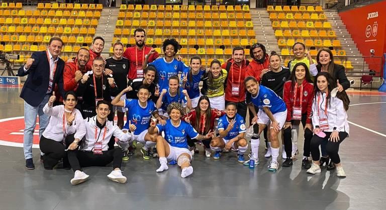 Crónica del Partido de Cuartos de Copa de S.M. La Reina: AE Penya Esplugues - MSC Torreblanca Melilla