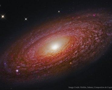 La masiva galaxia espiral cercana NGC 2841