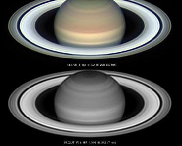 Saturno en oposición