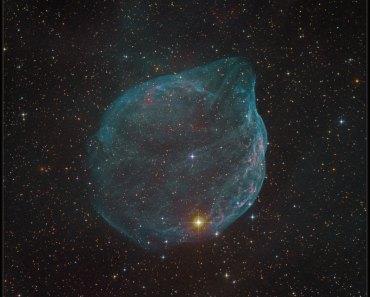 Sharpless 308: la burbuja estelar