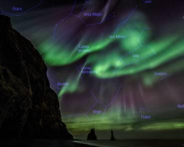 Leyendas islandesas y auroras