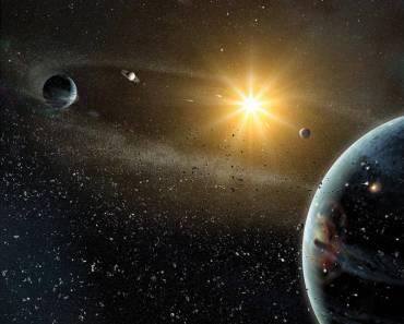 El Sistema Solar a escala