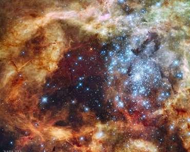 El cúmulo estelar R136 estalla a la vista