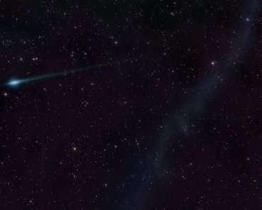 Cometas y estrella brillante