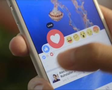 Las reacciones de Facebook llegaran a todo el mundo