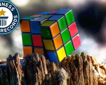 El récord Guinness del menor tiempo para resolver un Rubik