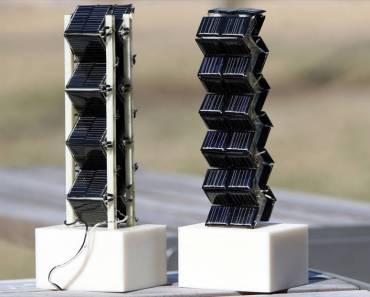 Recolectando energía solar en tres dimensiones
