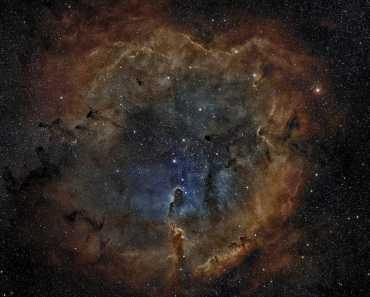 nebulosa de emision en cepheus