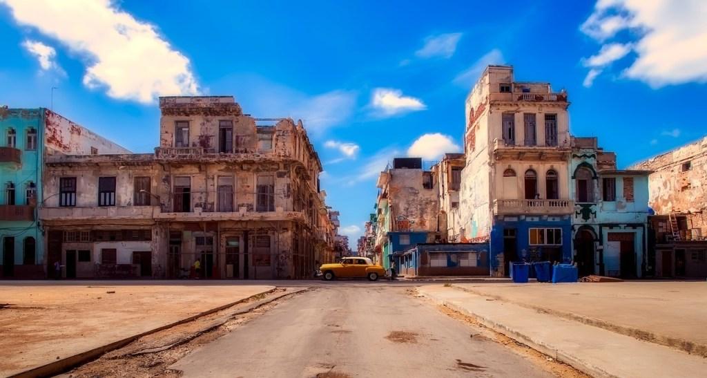 scorcio della città di L'Avana
