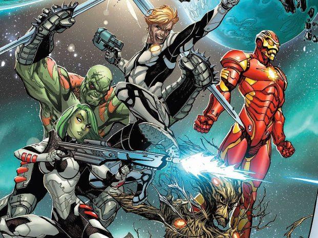 Iron Man guardianes de la galaxia