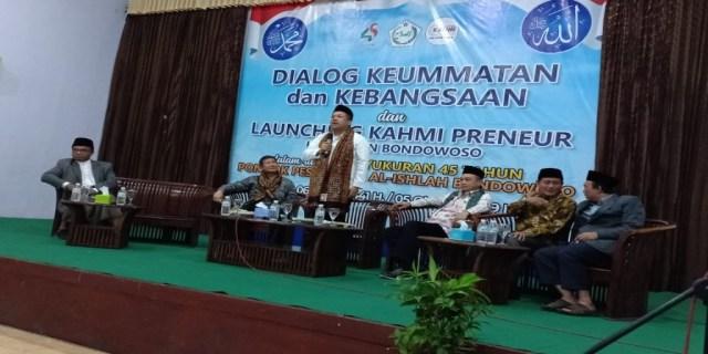 Launching KAHMIPreneur Bondowoso Dihadiri Tokoh-Tokoh Nasional