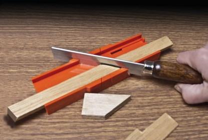 35 251inuse longer - Mini Miter Box & Saw Set 35-251  Mini Miter Box & Saw Set 35-251 - razor-saws-miter-boxes, miter-boxes-and-razor-saw-sets, miter-boxes-mitre-box-sets