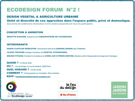 flyer Ecodesign Forum