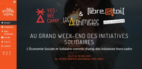 Grand WE des initiatives solidaires à Saint-Vincent-de-Paul, du 27 au 29 novembre 2015