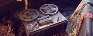Evil dead tape-recorder