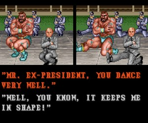 Street Fighter Gorbachev