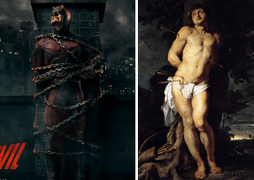All hell Baroque loose in the imagery of Daredevil season 2 adverts, Zone 6