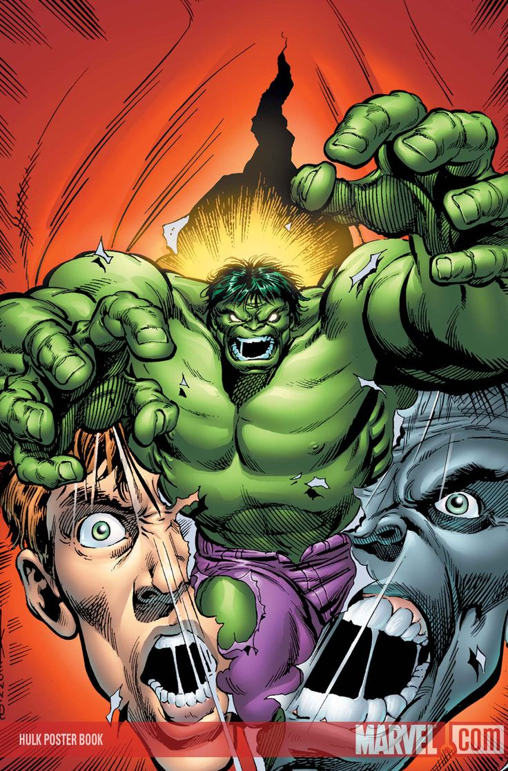 Great Comic Book Covers- Feat: The Hulk