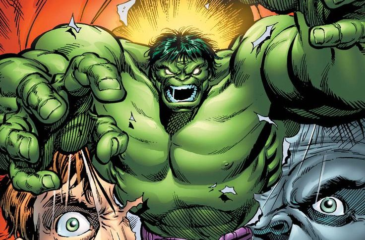 , Great Comic Book Covers- Feat: The Hulk, Zone 6