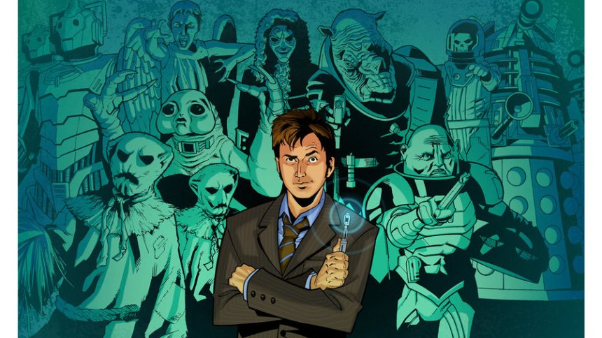 Doctor Who – The Doctor and his Villains (part 1)