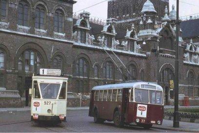 Afbeeldingsresultaat voor trolleybus antwerpen