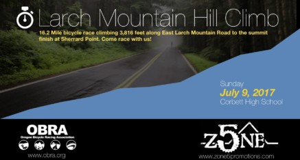2017 Larch Mountain Hill Climb
