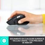 Logitech MX Master 3 Advanced Ratón Inalámbrico, Receptor USB, Bluetooth, 2.4GHz, Desplazamiento Rápido, Seguimiento 4K DPI en Cualquier Superficie, 7 Botones, Recarcable, PC, Mac, iPadOS, Negro5