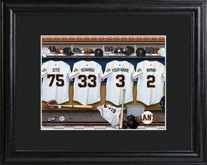 avec cadre Mat MLB San Francisco Giants Clubhouse Imprimé