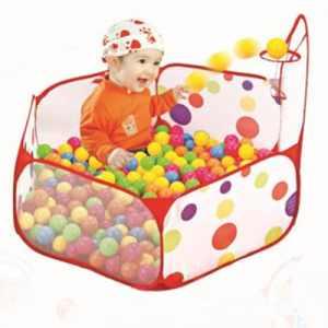Tomkit 1,2m Aire de Jeu Piscine à Balles pour Bébé Enfant