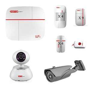 SZABTO Système d'alarme sans fil pour la sécurité à domicile (C)