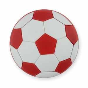 MyGrips Poignée de meuble/porte enfant Disponible en ballon de football Design (couleurs assorties)