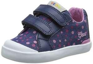 Geox B Kiwi B, Chaussures Marche Bébé Fille, Bleu (Avioc4005), 22 EU