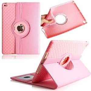 iPad Pro 24,6cm Coque, Avril Tian magnétique rotatif à 360° support de fin avec emplacements pour cartes Smart écran de protection amovible Coque pour tablette Apple iPad Pro 24,6cm, rose, iPad Pro 9.7