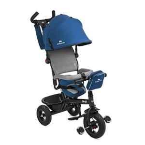 Trike Tricycle SWIFT 3 roues 1 – 5 ans enfant bébé poussette evolutif smart BLEU