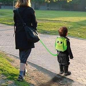 Sac à dos attachén enfant – Harnais de sécurité avec laisse de 75 CM pour éviter la perte de vos enfants dans la foule – Vendu Par IntiPal