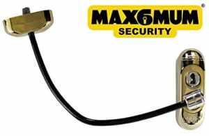 25x PVD doré Max6mum Sécurité verrouillable pour bébé et enfant fenêtre et porte de sécurité Supplies