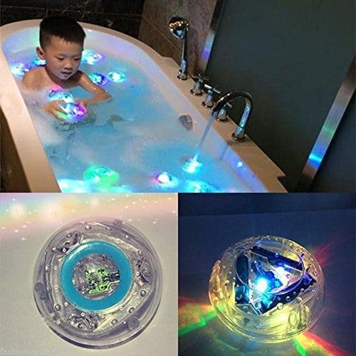 De Fête pour enfants dans le bain jouet de bain lampe lumières lumières de salle de bain