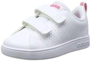 adidas Vs ADV CL CMF Inf, Chaussures Premiers Pas Mixte Bébé – Blanc – Blanc (Ftwbla/Ftwbla/Supros), 22 EU
